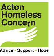 logo for acton homeless concern